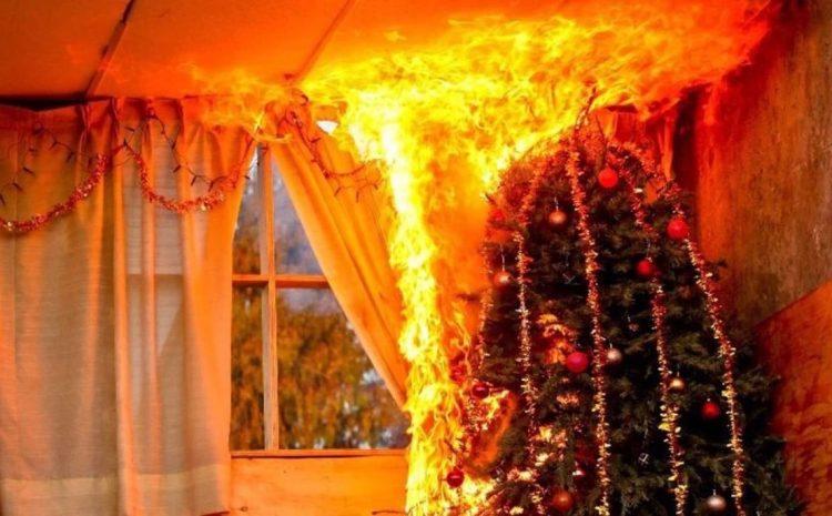 Como actuar en caso de ocurrir un incendio en el hogar