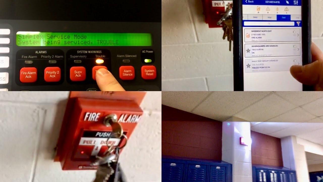 Mantenimiento de Alarmas contra Incendio