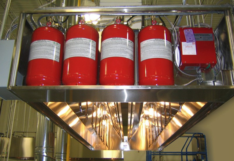 Sistema contraincendio cocina 2