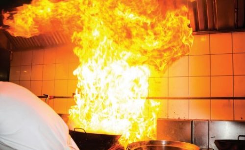 Sistema contraincendio cocina